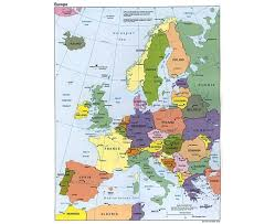 Political Map Of France by Maps Of Europe And European Countries Political Maps Road And