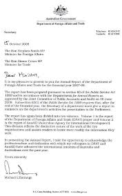 dfat annual report 2007 2008 letter of transmittal