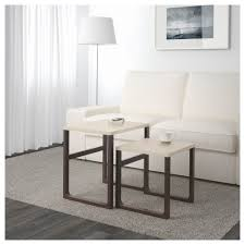 end table set of 2 rissna nest of tables set of 2 beige ikea