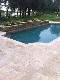 Tile Tech Pavers Cost by Roman Blend 6x12 Travertine Pavers Tumbled Edge Pavers Stone