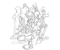27 disney kingdom hearts coloring pages disney images