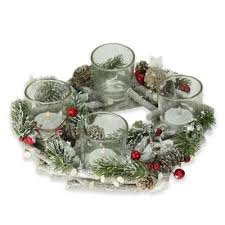 buy candle wreaths from bed bath beyond