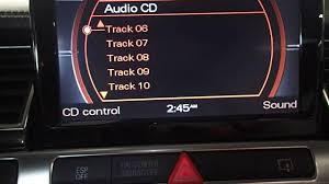 stk a16040 2009 audi s8 cd changer test video youtube