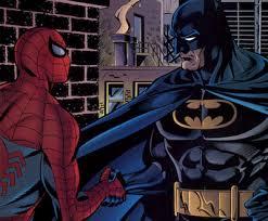 scans daily batman u0026 spider man age dawning
