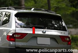 pelican technical article bmw x3 rear wiper arm and motor