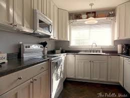 Remodelaholic How To Paint Cabinet Doors - Painted kitchen cabinet doors