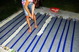 Diy Outdoor Rug Outdoor Painted Rug