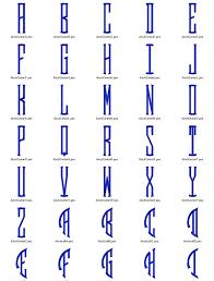 3 letter monogram large seal 3 letter monogram machine embroidery font