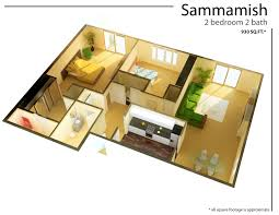 Cool Floor Plan by Knockout Apartment Small Studio Floor Plans One Bedroom Efficiency