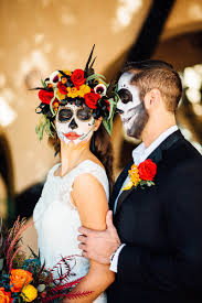 Halloween Wedding Photos by Day Of The Dead Wedding Ideas Bespoke Bride Wedding Blog