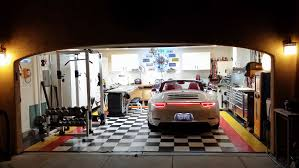 one car garage man cave home design