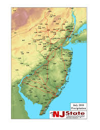 State Of New Jersey Map by Office Of The New Jersey State Climatologist