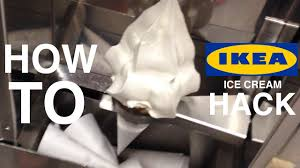 Dispense Ikea by How To Ikea Ice Cream Hack Youtube