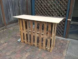 How To Build Tiki Hut Building A Tiki Bar From Pallets Hometalk