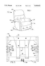 How To Stop Swivel Chair From Turning Patent Us5435622 Swivel Recliner Rocker Chair Having Preloaded