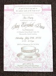 bridal tea party invitation tea party bridal shower invitations mounttaishan info