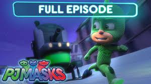pj masks gekko nice ice plan episode
