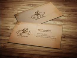 business card exle gano excel business card design 1