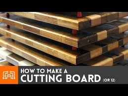 Cool Cutting Board Designs Making Cutting Boards How To Youtube
