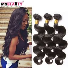 best hair on aliexpress aliexpress best cheap msbeauty brazilian virgin hair body wave 3