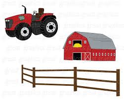 farm clipart fall festival apple digital farm clip art red tractor