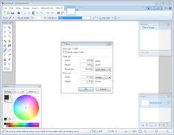 paint software paint net