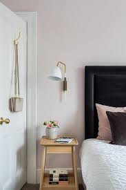 Pink And Black Bedrooms Blush Pink And Black Bedroom Transitional Bedroom