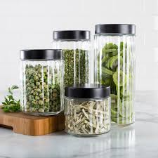 clear glass kitchen canister sets 100 images clear glass