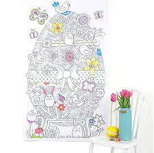 personalised colour easter poster easter