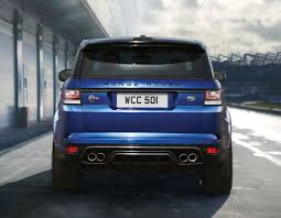 land rover rear 2015 land rover range rover sport svr rear photo estoril blue