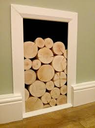 awesome decorative fireplace logs design decorating ideas