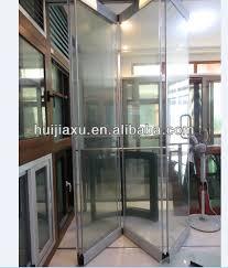 folding door glass commercial frameless folding glass door frameless glass folding