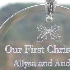 season stirring engravable ornaments photos