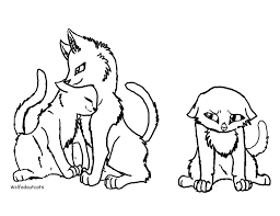 warrior cats coloring pages sad sad cat drawing at getdrawings com free for personal use sad cat