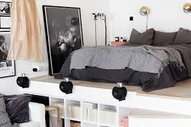 Studio Apartment Bed Ideas How To Live Well In A Studio Apartment Mydomaine