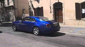 rolls royce wraith blue new rolls royce wraith blue youtube