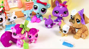 lps mommies series mommy and baby littlest pet shop haul opening