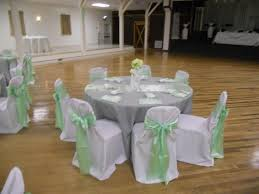 mint chair sashes fs runners napkins sashes vases mint green white chagne