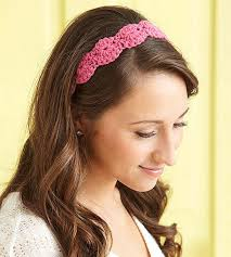 pretty headbands make a crochet heart headband for s day crochet