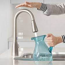 motionsense kitchen faucet moen faucets sinks showers at lowe s