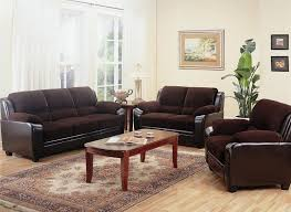 microfiber sofa and loveseat luna chocolate microfiber sofa and loveseat set 6565 within love