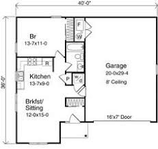 One Car Garage Apartment Plans Garage With Apartment Plan Http Justgarageplans Com 3520 Plan