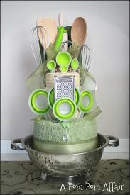 kitchen themed bridal shower ideas would totally to some of these towel cakes to go in