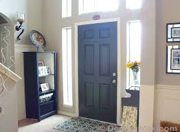 Colored Interior Doors More Painted Interior Doors Before And After Decorchick