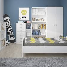 Tall Narrow Bookcase by 4 You Tall Narrow Bookcase In Pearl White