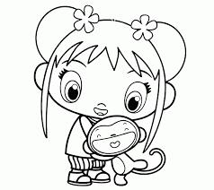 ni hao kai lan books coloring