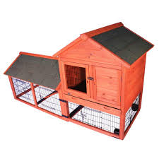 Rabbit Hutches And Runs Trixie 6 5 Ft X 2 6 Ft X 3 7 Ft Rabbit Enclosure With Outdoor