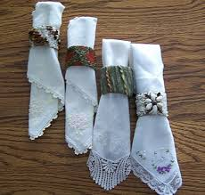 napkin ring ideas thriftyfun