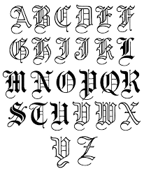 gothic black letter script evolved from carolingian in the later