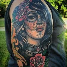 150 greatest day of the dead tattoos check more at http